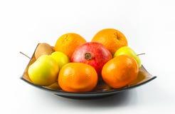 exotiska frukter för sortiment Royaltyfria Bilder