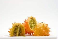 exotiska fruktskivor Royaltyfri Bild