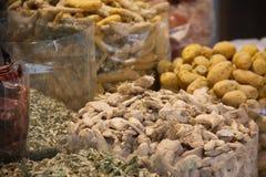 exotiska kryddor Royaltyfria Foton