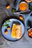 Exotiskt kumquatdriftstopp med mandariner fotografering för bildbyråer
