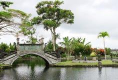 Exotiskt vatten parkerar Royaltyfri Foto