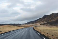 Expédier par l'Islande images stock