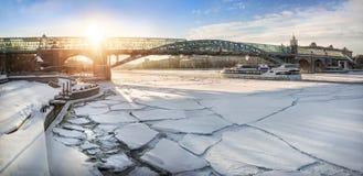 Expédition d'hiver Images stock