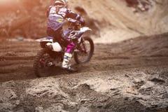Expédition de moto en nature photographie stock libre de droits