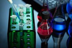 Expérience de laboratoires Photo stock