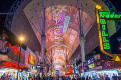 Expérience de rue de Las Vegas, Fremont Images stock
