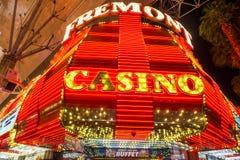 Expérience de rue de Las Vegas, Fremont Images libres de droits