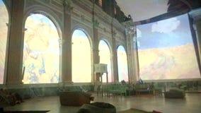 Expérience de Van Gogh banque de vidéos