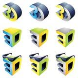 expérience du visionnement 3D Photographie stock libre de droits