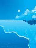 Expance del hielo libre illustration