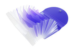 Expandable  Document Folder Stock Photo