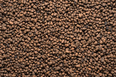 Expanded clay aggregate. / background / 13 Stock Photo