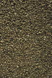 Expanded Clay Aggregate. On white background Stock Photography