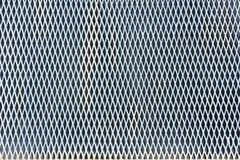 Expanded metal. Background: fullframe of expanded metal Royalty Free Stock Image