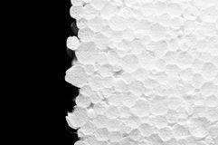 Expanded polystyrene (EPS) sheet Royalty Free Stock Photography