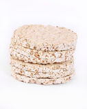Expanded wheat crackers Stock Photography