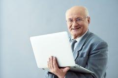 Expanding business through Internet. Stock Photos
