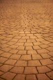 Expanding pavers horizontal Stock Image