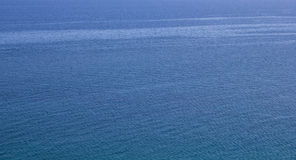 Expanse of blue water choppy sea Stock Image