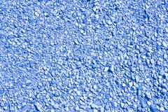 Expanse of colored gravel. Toned image useful as background.  royalty free stock photo