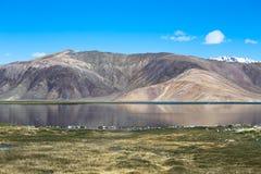 Expanse of Lake Bulun-Kul. Tajikistan Stock Photos
