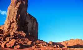 Expanse of Monument Valley. Monument Valley Arizona stock image