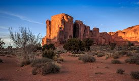 Expanse of Monument Valley. Monument Valley Arizona royalty free stock photos