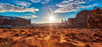 Expanse of Monument Valley. Monument Valley Arizona stock photos