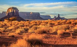 Expanse of Monument Valley. Monument Valley Arizona royalty free stock photography
