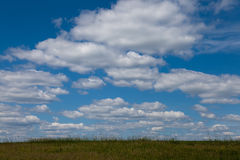 Expanses of Central Russia, the Volga region. Stock Photos