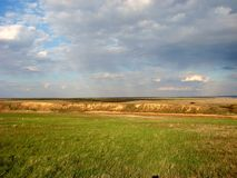 Expanses of southern Russia Stock Image