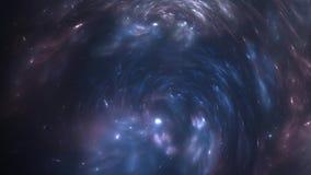 Expansion accélérée de la nébuleuse après explosion de supernova illustration de vecteur