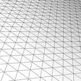 Expansion ceiling tile texture, vector technology modern business futuristic interior Royalty Free Stock Photography