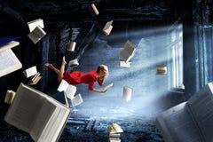 Expansion de l'imagination Media mélangé illustration de vecteur