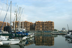 Expansion de marina Photo libre de droits