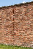 Expansion Joint. An Expansion Joint in a Traditionally Built Brick Wall Stock Photography