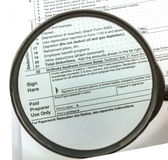 Expansion Tax form Royalty Free Stock Photo