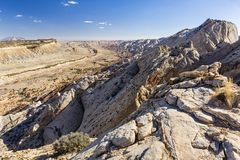 Strike Valley Monocline. Expansive view of the Waterpocket Fold monocline from the Strike Valley Overlook in Capitol Reef National Park, Utah stock photography