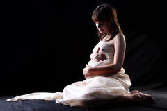 Expectant mother Royalty Free Stock Image