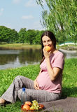Expectant mother Royalty Free Stock Photography