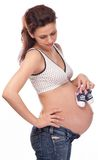 Expectant mother. Stock Images