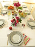 Expectation for guests Stock Photo