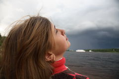 In expectation of a storm Royalty Free Stock Photos