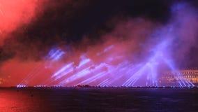 Expectativa de las velas del escarlata Foto de archivo
