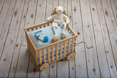 Expecting a boy Royalty Free Stock Images