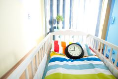 Expecting child  room ready for newborn Stock Photography