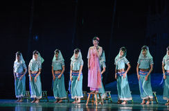 """Expecting Husband Rock-Dance drama """"The Dream of Maritime Silk Road"""". Dance drama """"The Dream of Maritime Silk Road"""" centers on the plot of two Royalty Free Stock Images"""