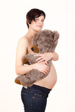 Expecting mother Royalty Free Stock Photography