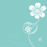 Expecting mother flower. Mother flower expecting a baby boy Royalty Free Stock Photos