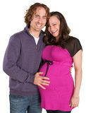 Expecting Parents Royalty Free Stock Images